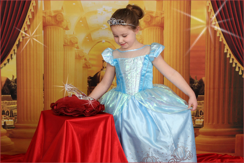 £9 instead of up to £175 for a 'Cinderella' or enchanted princess themed photoshoot at Picture Perfect by Mario, Birchington - save up to 95%