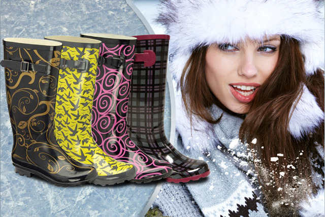 £12.99 instead of £59.99 (from Dallas House) for a pair of designer wellies in your choice of 4 colourful designs - save a stylish 78%