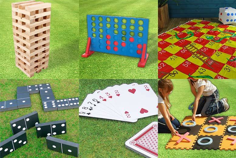 Image of From £5 (from Vivo Mounts) for your choice of 11 giant garden games - save up to 55%