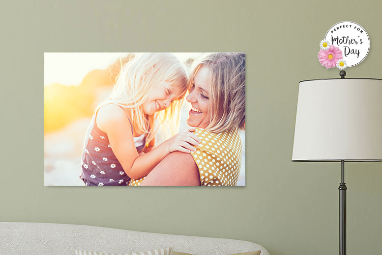 £9.99 instead of £54.99 (from Your Perfect Canvas) for a personalised A1 canvas - spruce up your home and save 82%