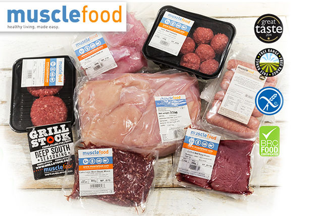 32 or 62pc lean meat hamper