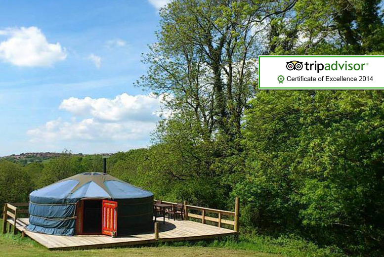 From £119 (from Cwm Tawel Yurts, Wales) for a 4nt midweek yurt stay for up to 5, or from £129 for a 3nt weekend break - save up to 59%