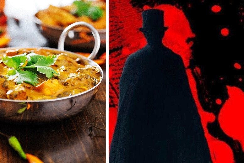 £29 instead of up to £49 for a Jack The Ripper tour and Brick Lane curry for two from Activity Superstore - save up to 41%