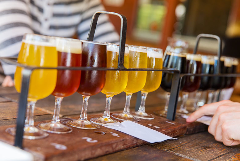 £6 for a 75-min craft brewery tour for 2 people, £10 for a gin tour for 2, £18 for a brewery tour for 4 or £18 for 6 at Eden Mill, St Andrews - save up to 60%