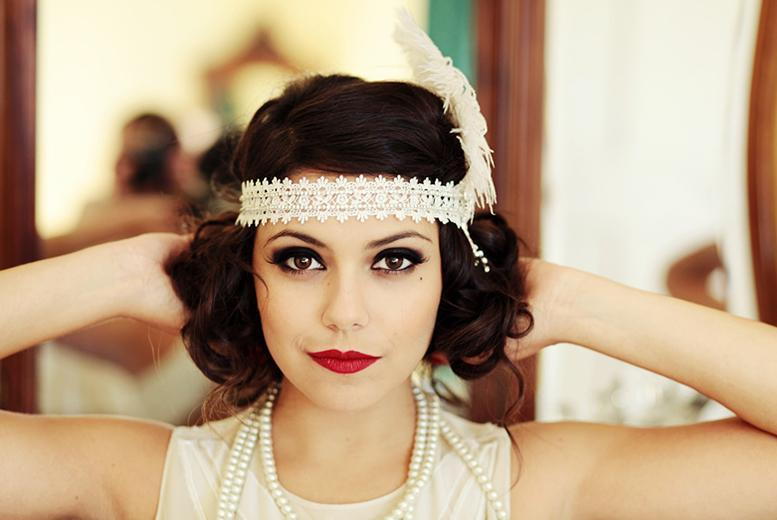 £16 for a 2½ hour vintage hair styling workshop and cream tea, £30 for 2 people or £59 for 4 at Chez Titine, Leamington Spa - save up to 70%