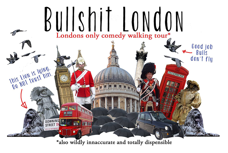 £7 instead of up to £14 for a Bullsh*t London walking tour - explore the ridiculous, the hilarious and the flat-out untrue and save up to 50%