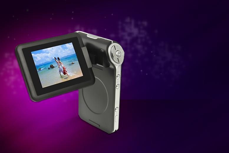 "£27 for a slimline 2.4"" 4x digital zoom mini DV camcorder from Wowcher Direct - save 73%"