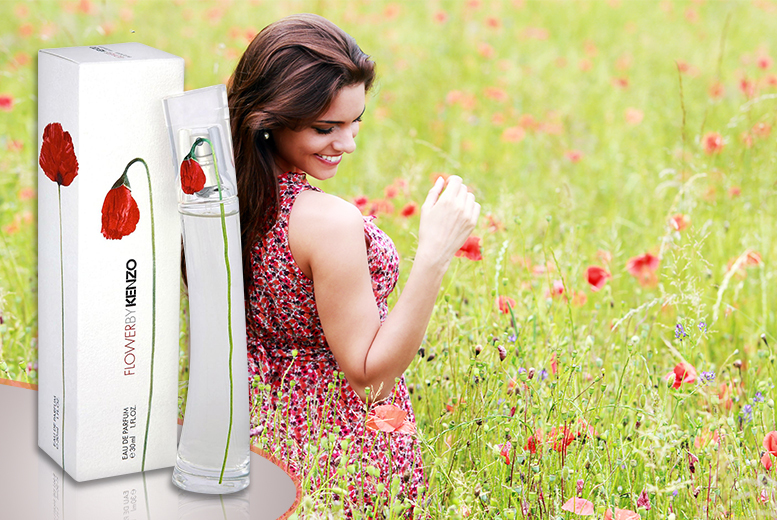 £19.99 instead of £49.01 for a 30ml bottle of Kenzo Flower eau de parfum from Wowcher Direct - save 59%