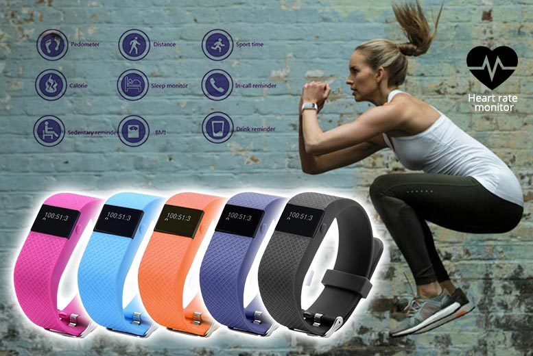 £19.99 instead of £149.99 (from Ugoagogo) for a next-gen TW64s 8-in-1 Bluetooth sports activity bracelet - choose from five colours and save 87%