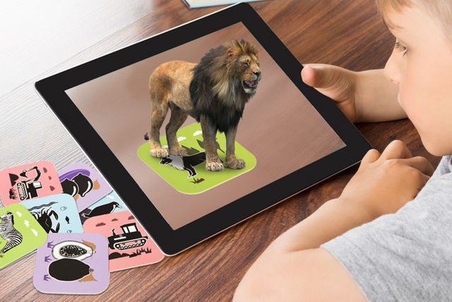 4d interactive playing cards
