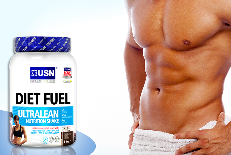 £16.99 (from USN) for 1kg of ULTRALEAN nutrition meal replacement shake, £28.99 for 2kg - choose from 5 flavours & save up to 32%
