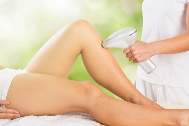 3 Sessions of Laser Hair Removal on 3 Small Areas, Sheer Bliss