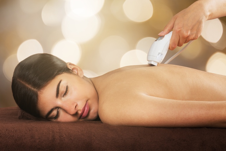 6 Sessions of Laser Hair Removal on 2 Medium Areas, Sheer Bliss