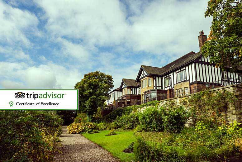 DDDeals - From £75 (from Best Western Higher Trapp Country House Hotel) for an overnight stay for two with a two-course dinner, bottle of wine and breakfast - save up to 45%