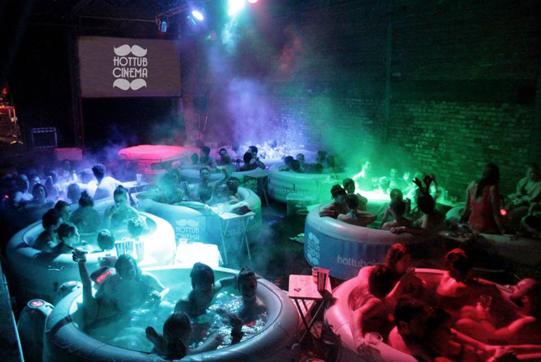 £48 instead of up to £70 for two tickets to Hot Tub Cinema, Digbeth - enjoy classic movies in style & save up to 31%
