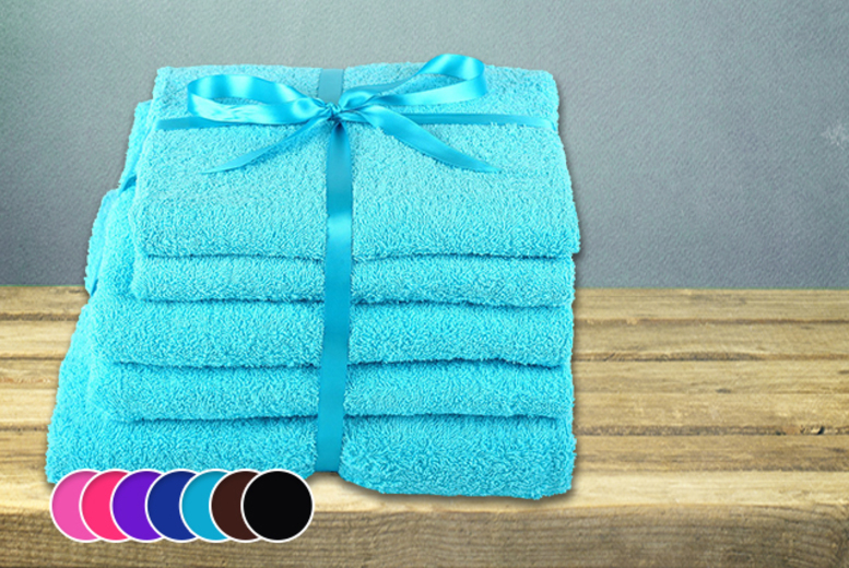 £14.99 instead of £79.99 (from Groundlevel.co.uk) for a 5-piece Egyptian cotton towel set, £24.99 for a 10-piece set - save up to 81%