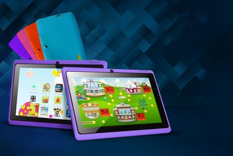 £29 instead of £109.99 (from D2D) for a 7-inch dual core touchscreen Android tablet for kids! - choose from 4 colours & save 74%