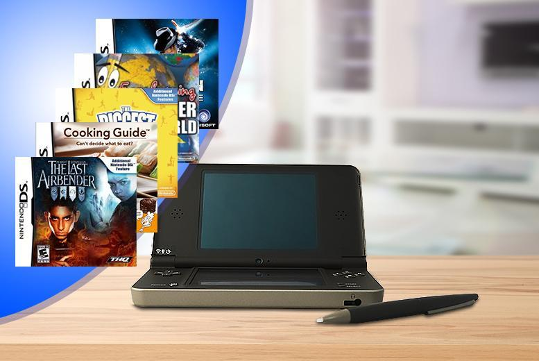 £69 for a Nintendo DSi XL with 5 games from Wowcher Direct!