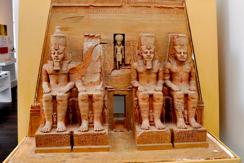 £6 for entry for 2 adults to 'Secret Egypt' exhibition, or £9 for a family of up to 5, at the Shrewsbury Museum & Art Gallery, Shrewsbury