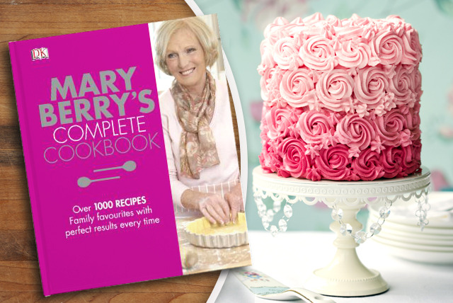 £10 instead of £25 (from Dorling Kindersley) for Mary Berry's Complete Cookbook - learn from the queen of puddings & save 60%