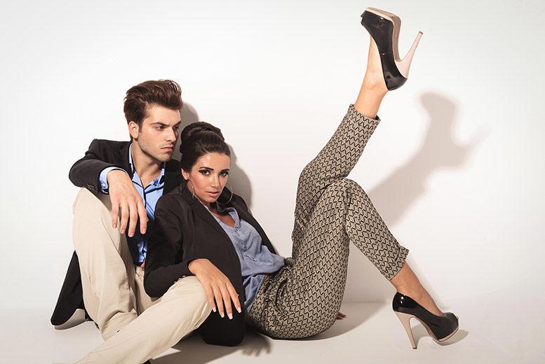 Couples\' Makover Photoshoot & Bubbly