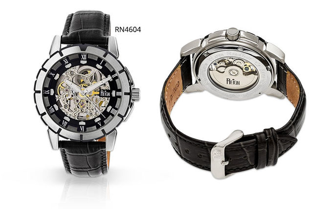 Reign Philippe Mens Skeleton Watch 2