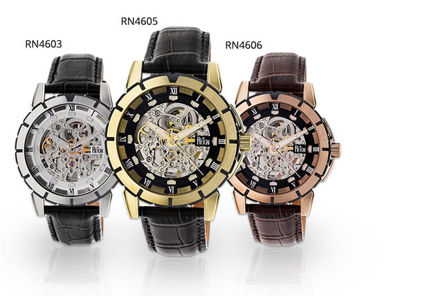 Reign Philippe Mens Skeleton Watch