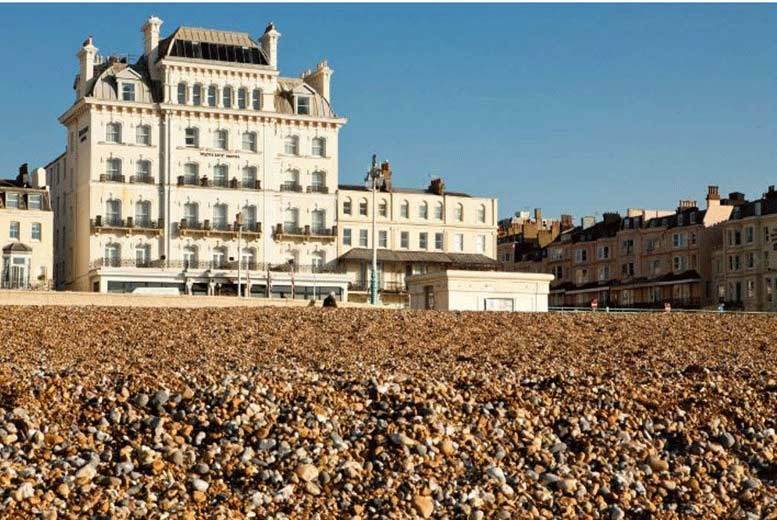 £109 (at Mercure Brighton) for an overnight 4* Brighton stay for two people with dinner and breakfast - save up to 63%