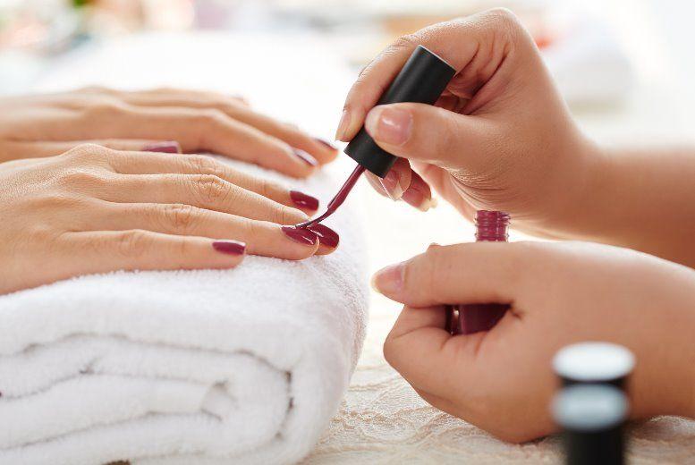 Shellac Manicure, La Visage