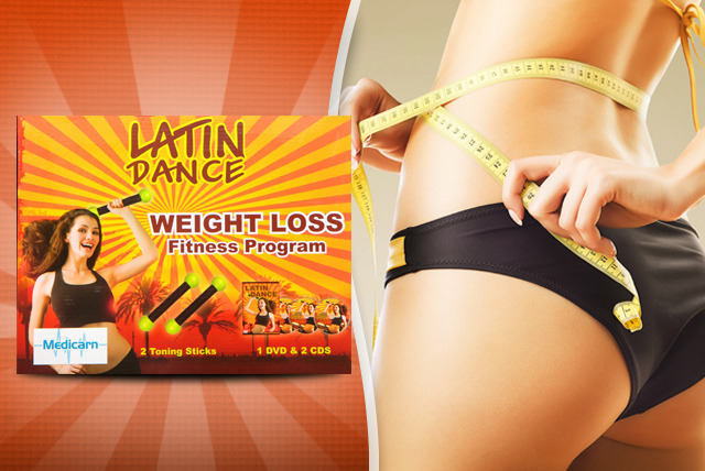 £9.99 instead of £24.99 (from Medicarn) for a Latin dance, Pilates or yoga workout DVD inc. equipment - work out at home and save 60%