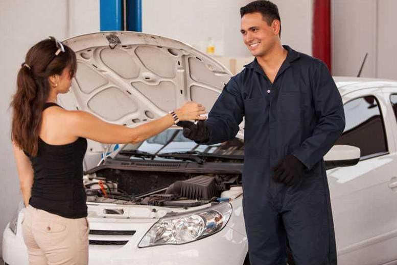£29 instead of £99.95 for a car service and 50-point car check at M60 Autos, Manchester - drive safe and save 71%