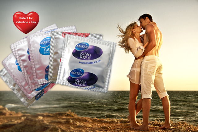 £8.99 instead of £41.60 (from Merchtopia) for a pack of 50 Mates condoms in a choice of varieties – save 78%