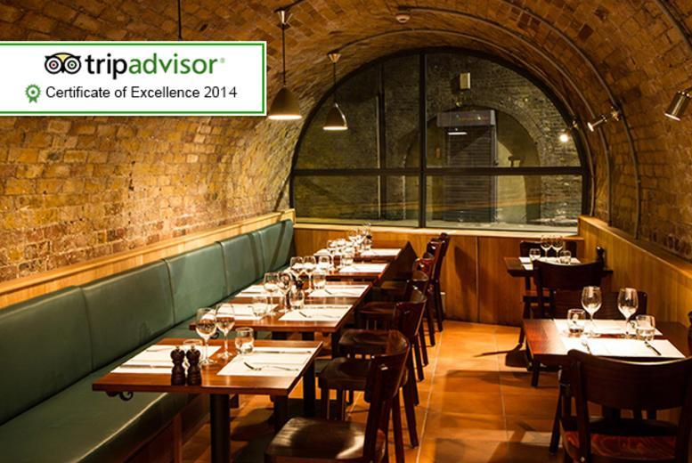 £49 (from Buyagift) for a 3-course Italian meal for two with a glass of prosecco each at Del Mercato, Borough Market