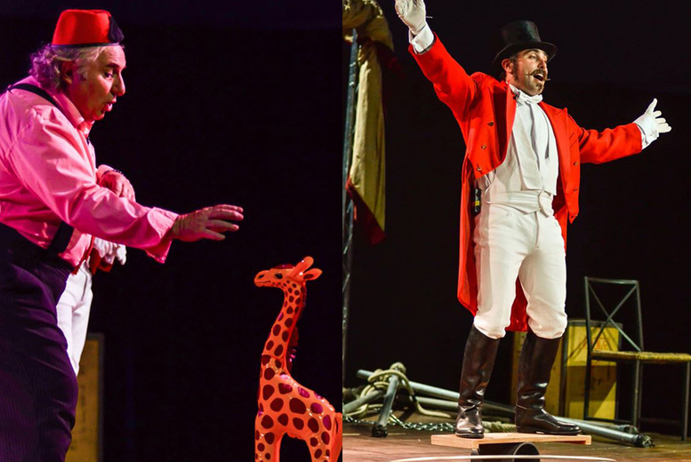 £4 instead of £9 for a child's ticket to Chaplin's Circus, or £7 for an adult ticket - choose from 5 locations and save up to 56%