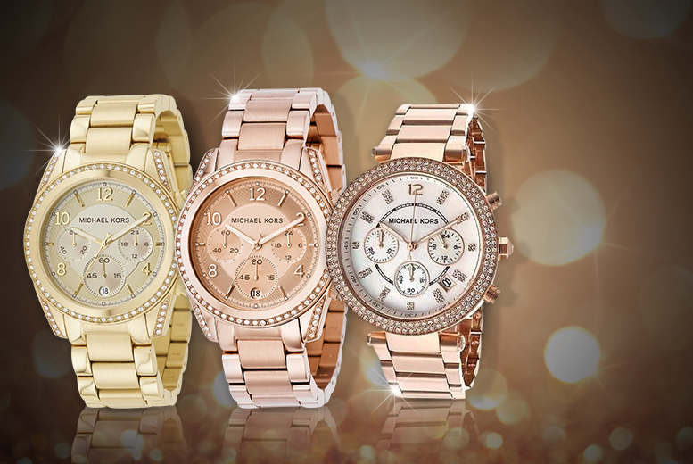 From £139 instead of £255.01 (from Designs by Daisy) for a ladies' Michael Kors watch - save up to 38%