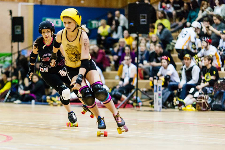 £5.50 instead of £10 for 2 tickets to a roller derby event with Newcastle Roller Girls - save a roll-diculous 45%