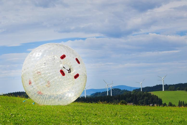 £12 instead of £35 for a 1-hour zorbing experience for one person, £19 for two or £35 for four people at Thunderballz, Sheffield - save up to 66%