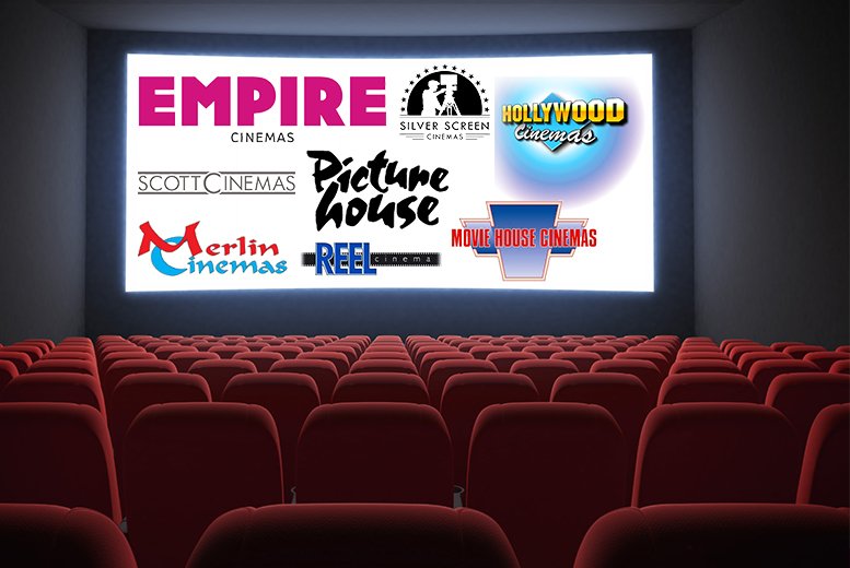 £14 (from Activity Superstore) for cinema tickets for two people, £24.99 for four people - choose from 82 UK locations!