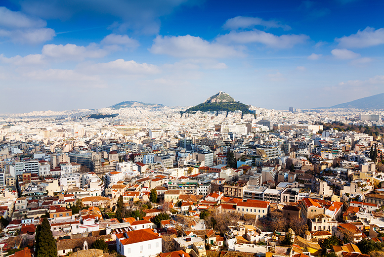 From £99pp instead of up to £155.78pp (from Weekender Breaks) for a 2-night Athens break including flights, from £139pp for 3 nights - save up to 36%