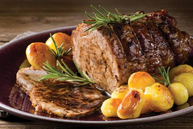 £14 for a Sunday roast for 2 people at the Dog & Partridge Country Inn, Derbyshire