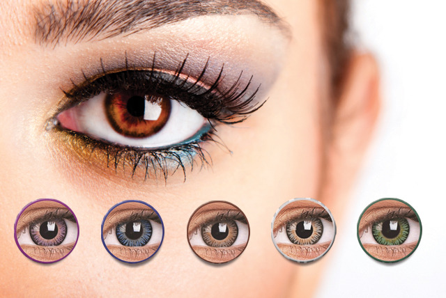 £9 instead of £20 (from DVA Beautique) for a pair of 90-day coloured contact lenses - choose from 5 colours and save 55%