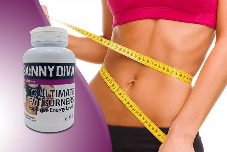 £12 (from Skinny Diva) for a 1-month* supply of T5 capsules, or £17 for a 3-month* supply - save up to 70% + DELIVERY INCLUDED!