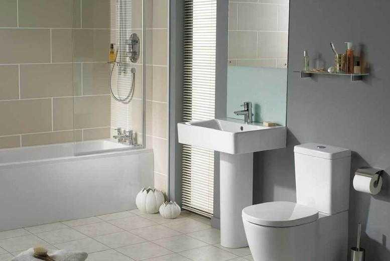 £1299 instead of £2500 for a professional bathroom installation from Bradbury Bathrooms - save 48%
