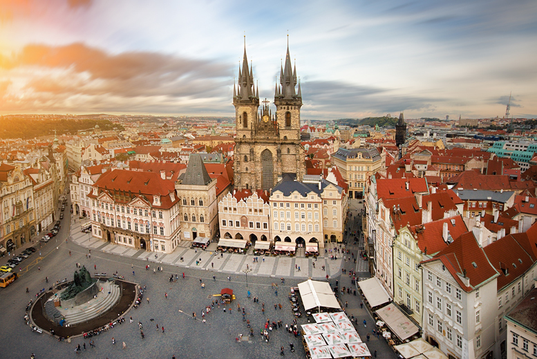 From £99pp (from Crystal Travel) for a 2-night Prague break including a Vltava River Cruise and flights, from £119pp for 3 nights - save up to 24%