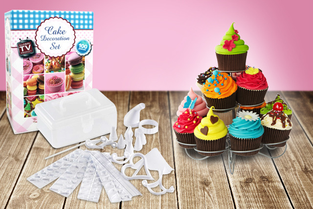 £6.99 instead of £13.99 (from The Sharper Edge) for a 100-piece cake decoration set - save 50%