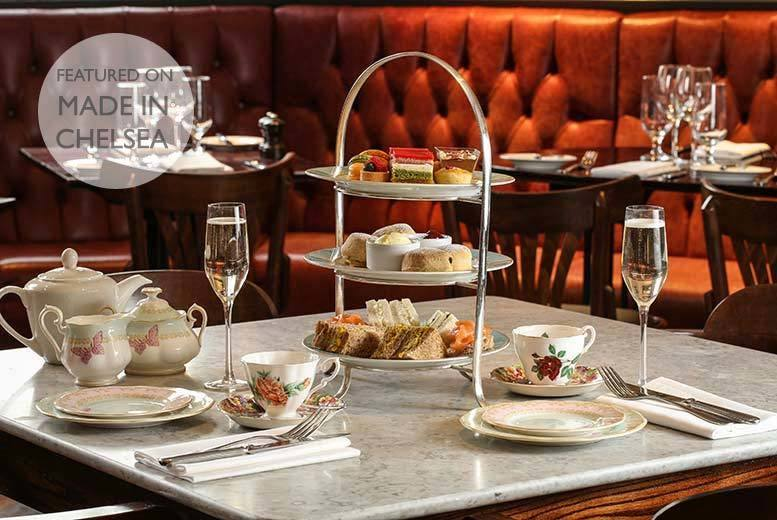 £27 for a traditional afternoon tea for two, £34 to add a glass of Prosecco each, or £37 to add a glass of champagne each at Reform Social and Grill - save up to 49%