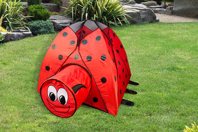 & Pop-Up Animal Play Tent - 3 Designs!