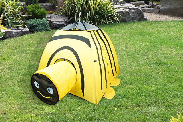 ... All Boxed Up - Animal Play Tent 3 designs-yellow & Pop-Up Animal Play Tent - 3 Designs!