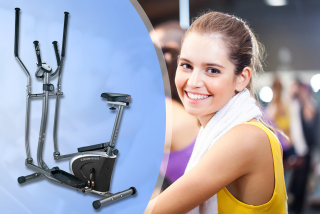 £139.99 instead of £209.99 for a Body Sculpture 2-in-1 elliptical cross trainer & bike from Wowcher Shop - save 33% + delivery included