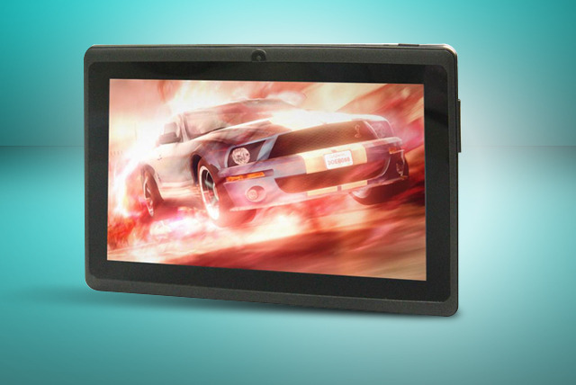 £69 instead of £137.50 (from DGM Distribution) for a 7-inch Android touchscreen tablet PC inc. 4GB storage & camera - save 50%